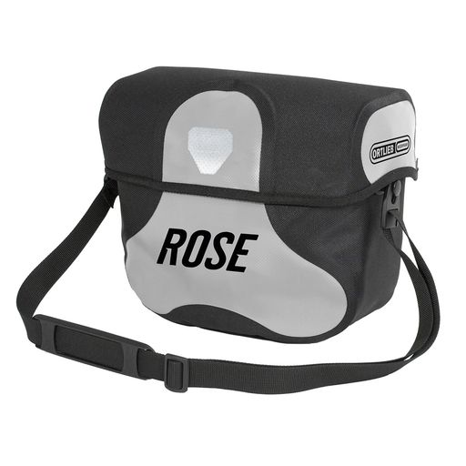 ULTIMATE 6 ROSE Handlebar Bag including holder (lockable)